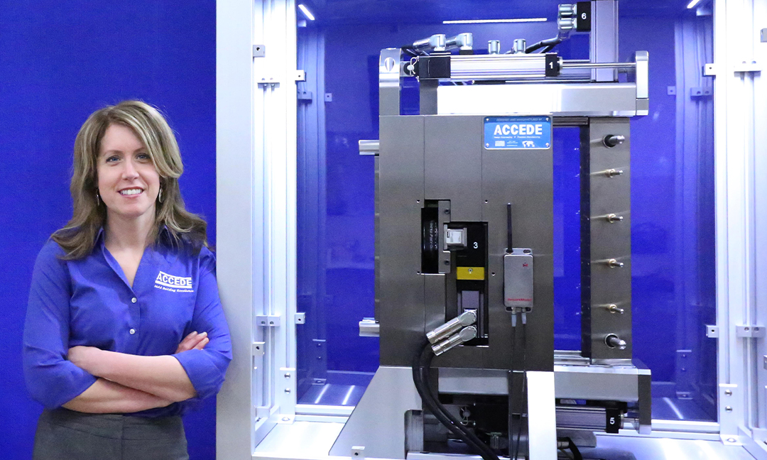 Camille Sackett honored in Mold Making Technology's,